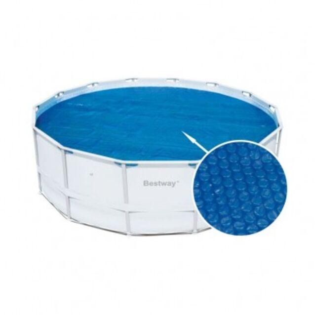 Теплосберегающее покрытие на бассейн Bestway 58253, диаметр 470 см