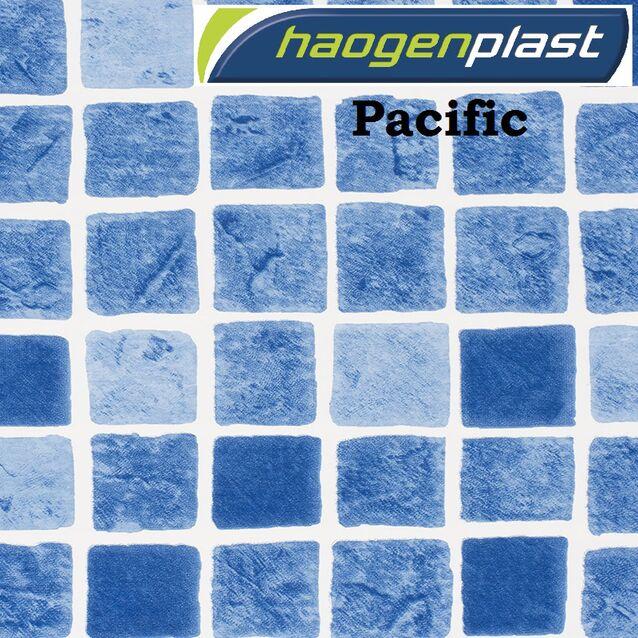 Плёнка Haogenplast «Printed Range» Pacific, размытая мозаика, рулон 1.65 × 25 метров