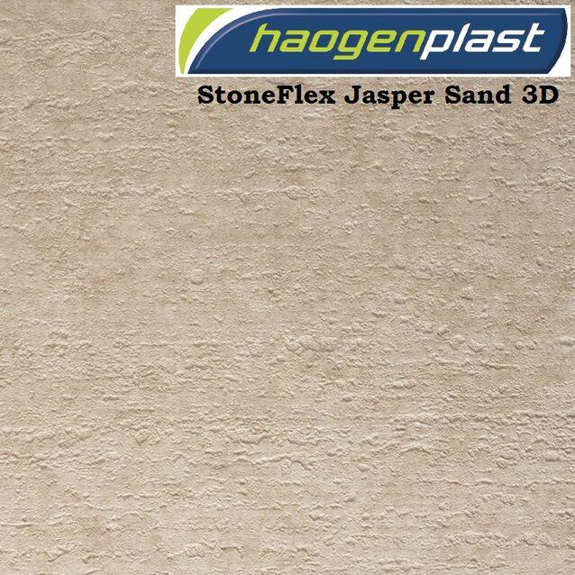 Плёнка Haogenplast «StoneFlex» Jasper Sand-3D, песочная-яшма, рулон 1.65 × 25 метров