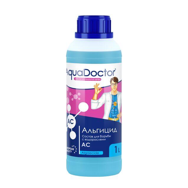 Альгицид AquaDoctor AC, 1 литр, средство против водорослей