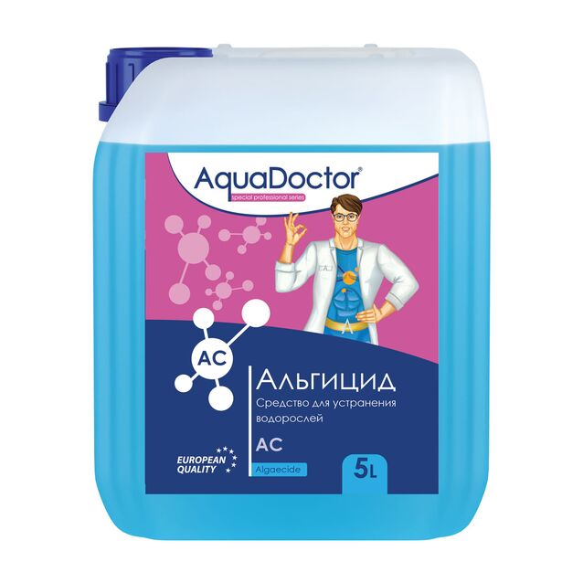 Альгицид AquaDoctor AC, 5 литров, средство против водорослей