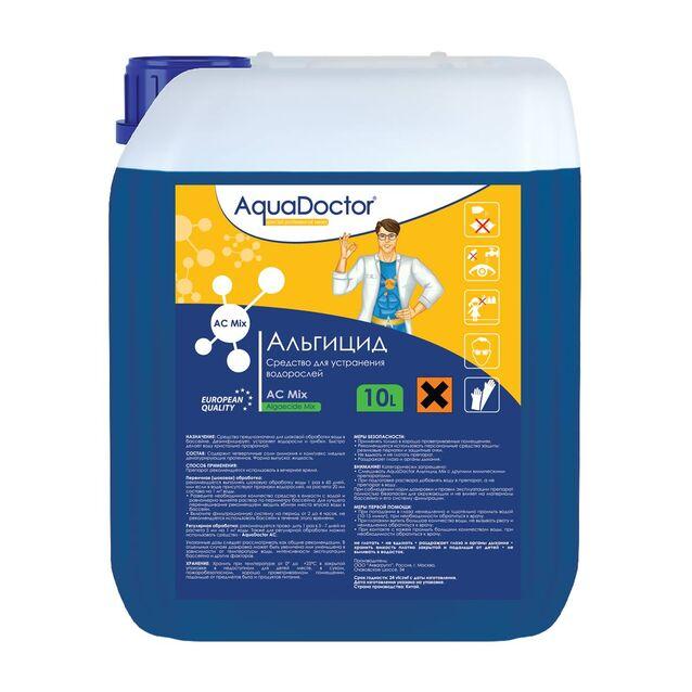 Альгицид AquaDoctor AC Mix, 10 литров, средство против водорослей