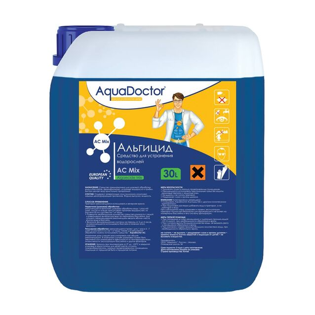 Альгицид AquaDoctor AC Mix, 30 литров, средство против водорослей
