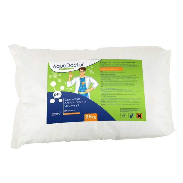 pH-минус в гранулах, AquaDoctor pH-Minus, 25 кг, средство для понижения уровня pH воды