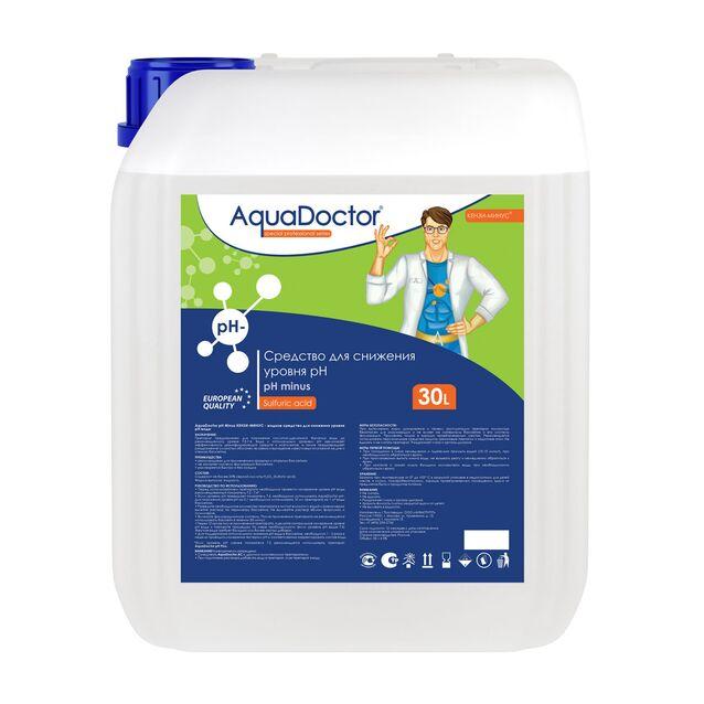 pH-минус жидкий, AquaDoctor pH-Minus, 30 литров, средство для понижения уровня pH воды