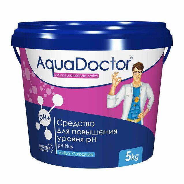 pH-плюс в гранулах, AquaDoctor pH-Plus, 5 кг, средство для повышения уровня pH воды