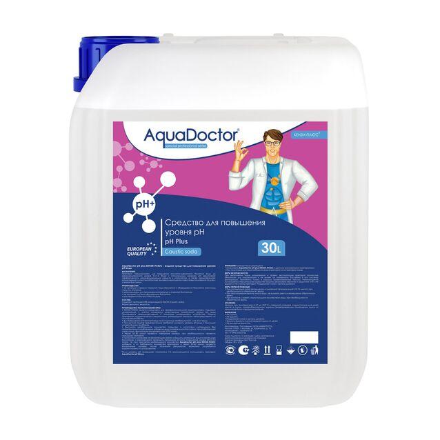 pH-плюс жидкий, AquaDoctor pH-Plus, 30 литров, средство для повышения уровня pH воды