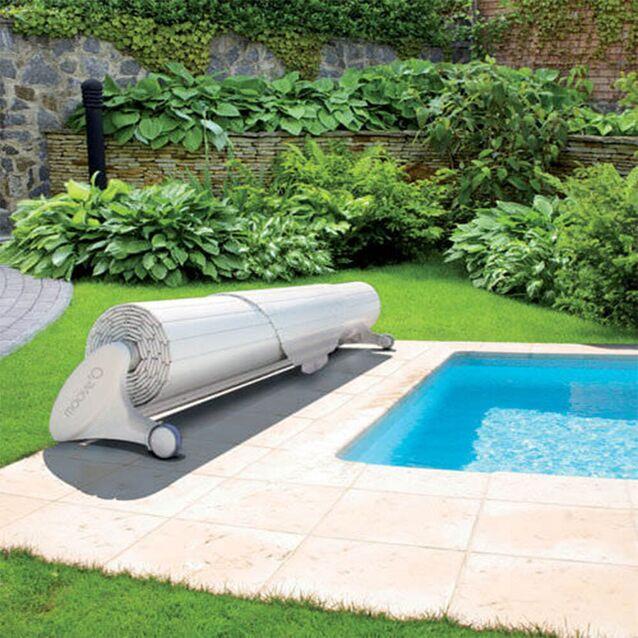 Роллета мобильная DEL Moove'O, для бассейна с максимальным размером 5×11 метров