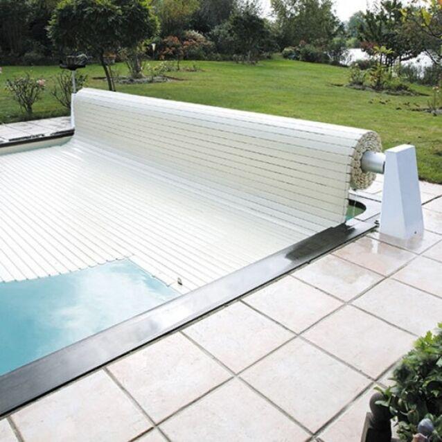 Роллета надводная DEL Rolleasy 2, для бассейна с максимальным размером 8×21 метров