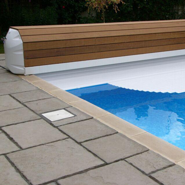 Роллета надводная DEL Rollover, для бассейна с максимальным размером 7×14 метров
