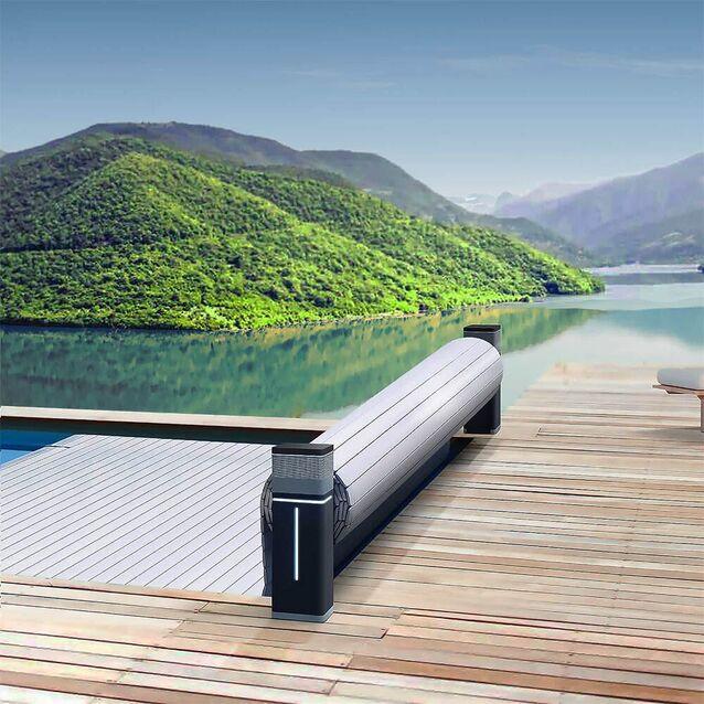 Роллета надводная DEL Tixit, для бассейна с максимальным размером 5×13.5 метров